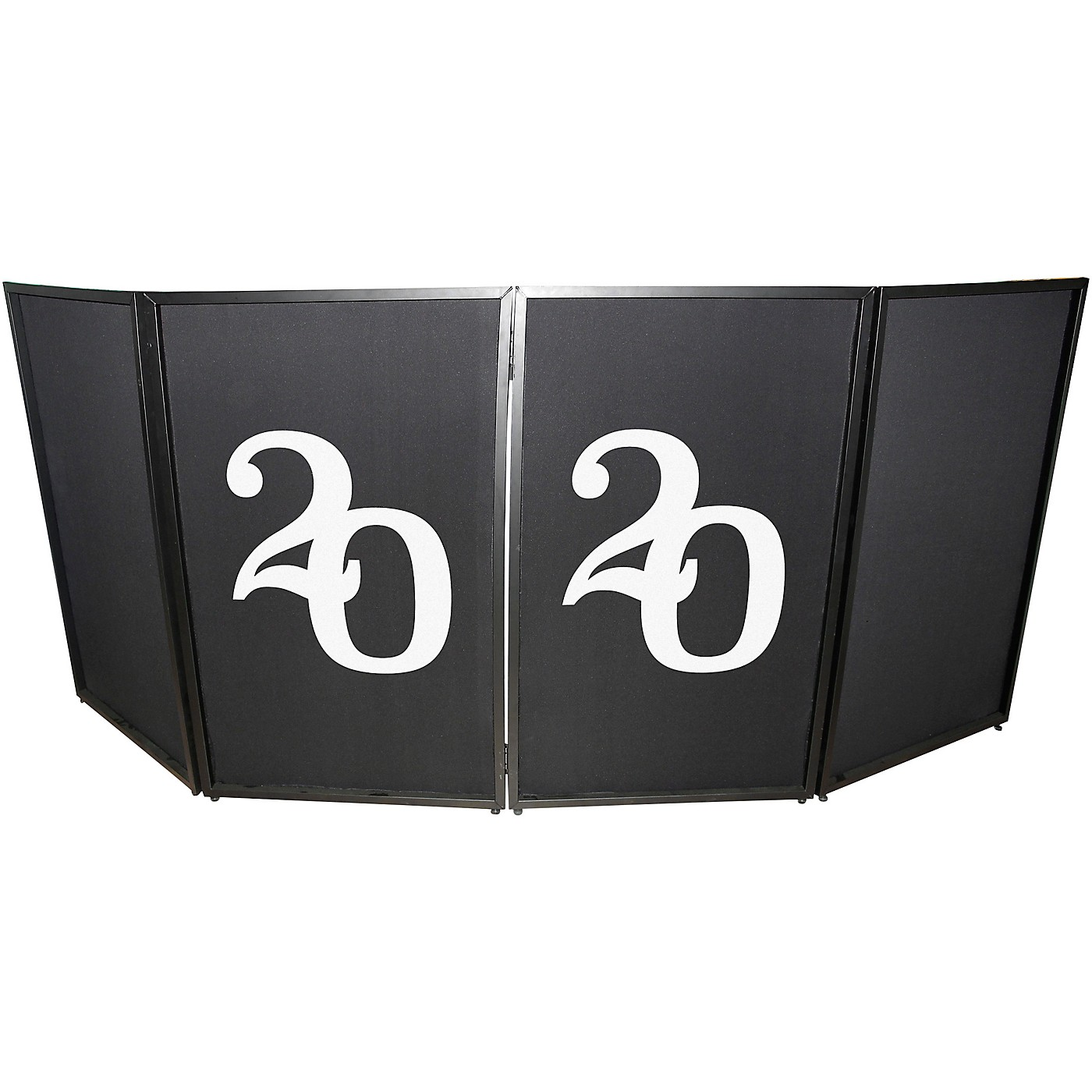 ProX XF-S2020X2 2020 New Year Facade Enhancement Scrims - White Numbers on Black | Set of Two thumbnail