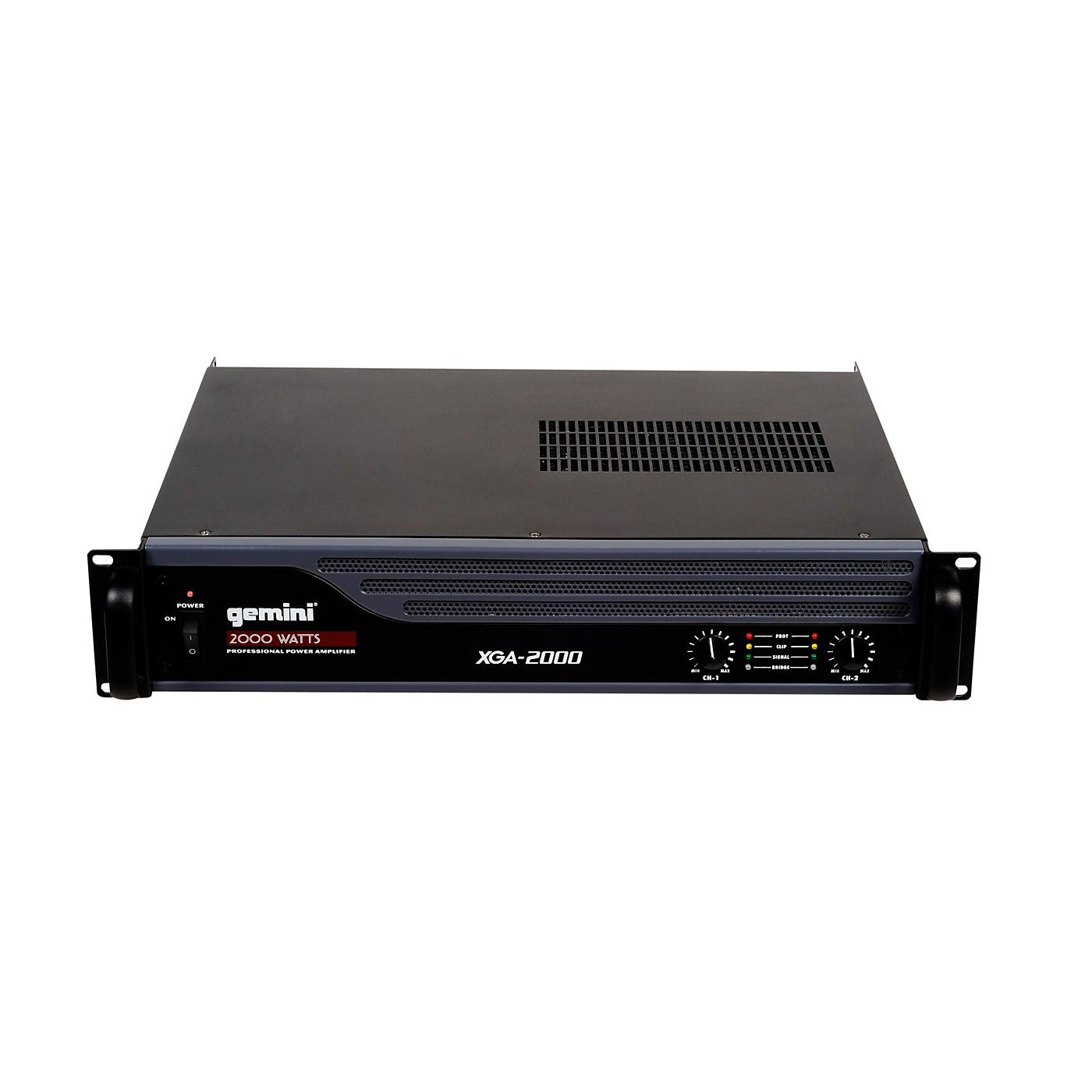 Gemini XGA-2000 Power Amplifier thumbnail