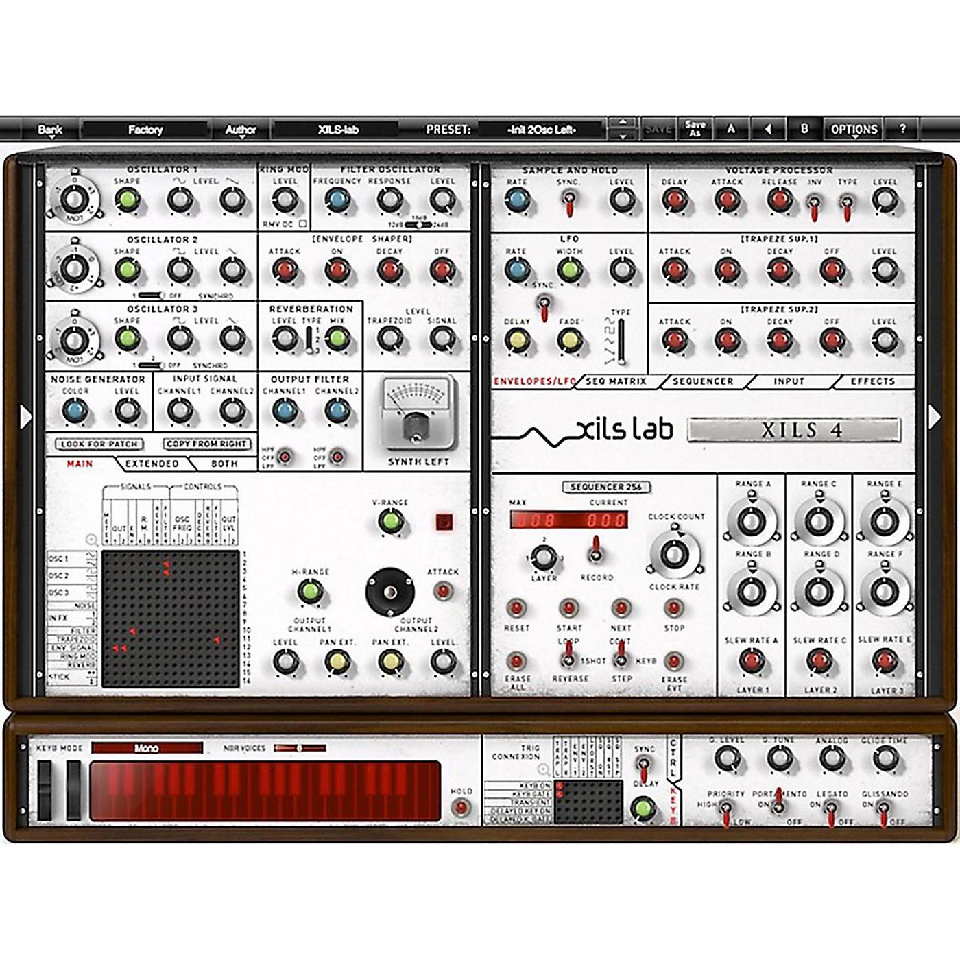 XILS lab XILS 4 Modular Synthesizer Software Download thumbnail