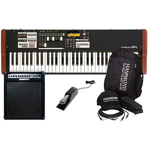 Hammond XK-1C Stage Keyboard with Accessory Pack, Keyboard Amplifier, and Sustain Pedal thumbnail