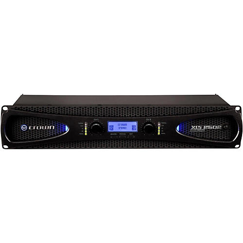 Crown XLS2502 775W Power Amp with Onboard DSP thumbnail
