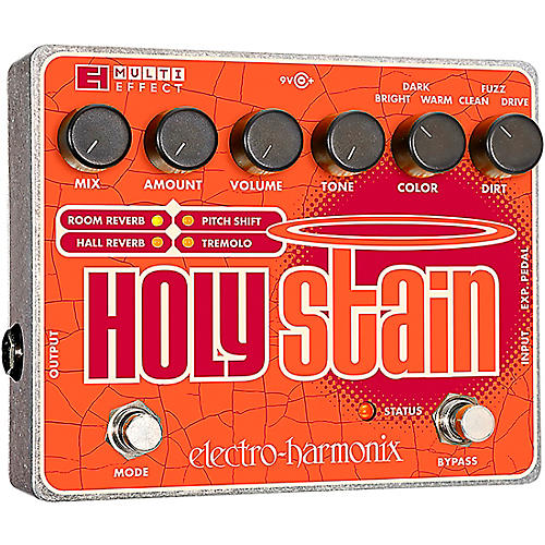 Electro-Harmonix XO Holy Stain Guitar Multi-Effects Pedal-thumbnail