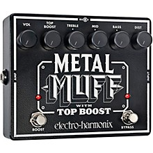 Electro-Harmonix XO Metal Muff with Top Boost Distortion Guitar Effects Pedal