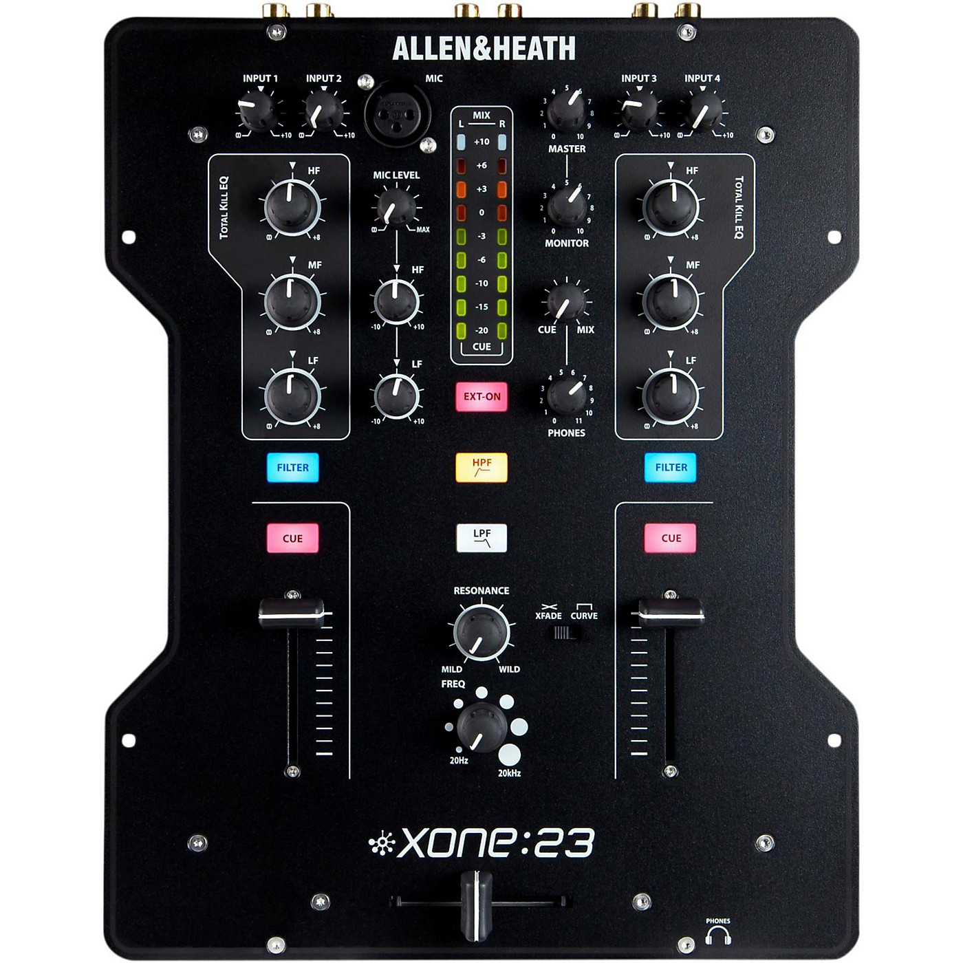 Allen & Heath XONE:23 2-Channel DJ Mixer thumbnail