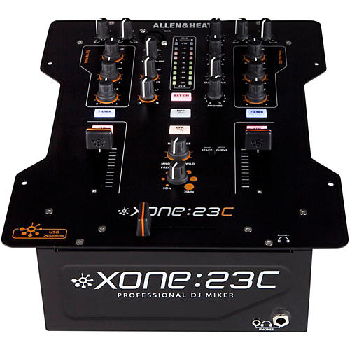 Allen & Heath XONE:23C 2-Channel DJ Mixer with Soundcard thumbnail