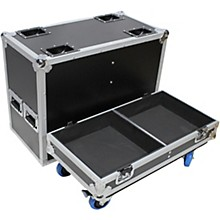 "ProX XS-2X15-SPW Flight Case for Two 15"" Speakers"