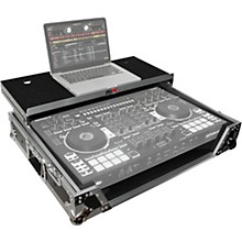 ProX XS-DJ808WLTBL Black ATA Style Flight Road Case with Wheels for Roland DJ-808 and Denon MC7000