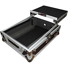 ProX XS-M12LT ATA Style Flight Road Case with Wheels and Sliding Laptop Shelf for 12 in. DJ Mixers