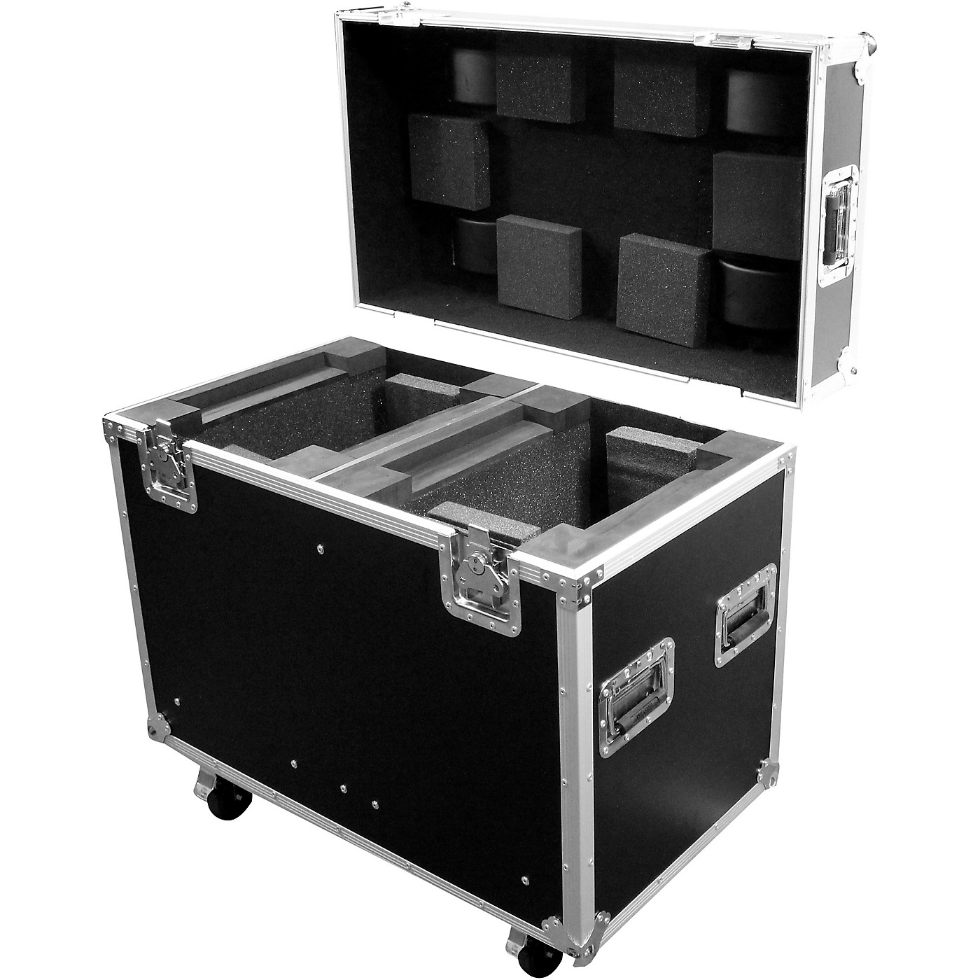 ProX XS-MH250X2W ATA Road Case with Wheels for Moving-Head Lights thumbnail