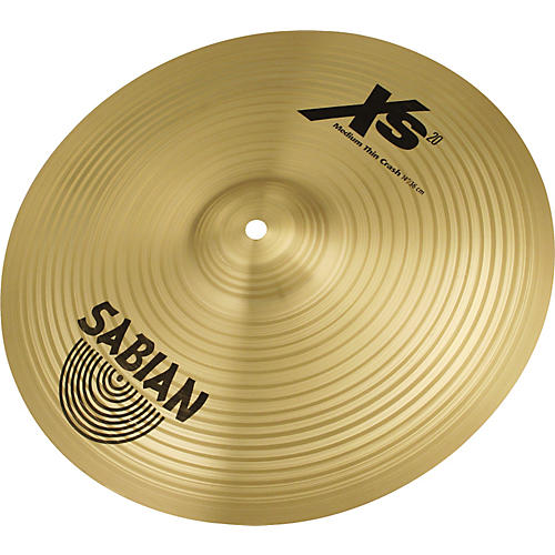 Sabian XS20 Medium Thin Crash Cymbal, Brilliant thumbnail