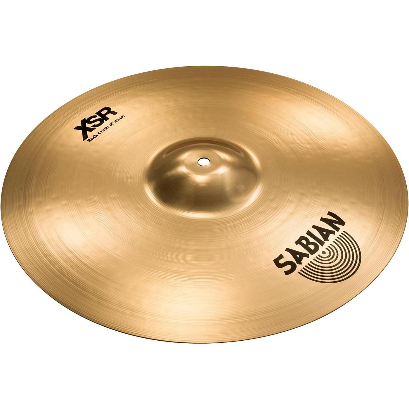 Sabian XSR Series Rock Crash Cymbal thumbnail