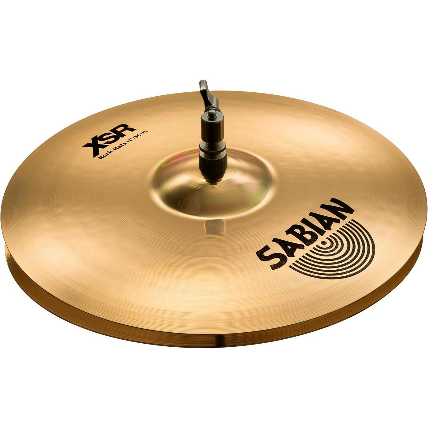 Sabian XSR Series Rock Hi-Hat Cymbal Pair thumbnail