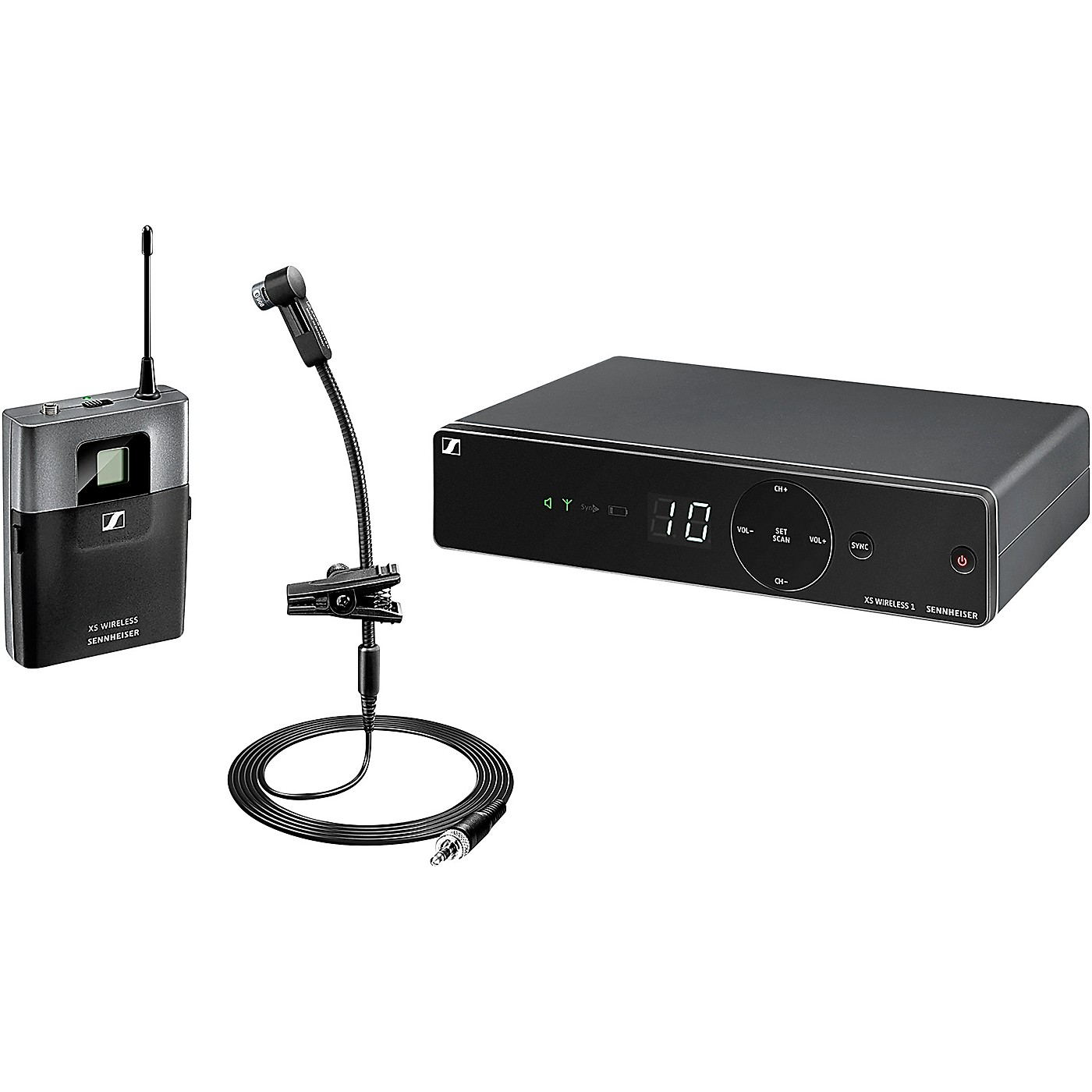 Sennheiser XSW 1-908 Brass Instrument Wireless Microphone System thumbnail
