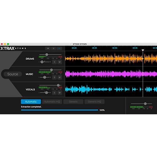 Audionamix XTRAX STEMS V.2.0 thumbnail