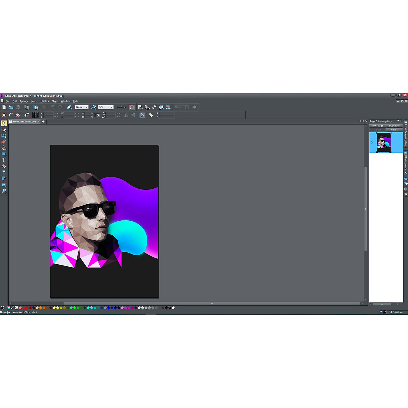 Magix Xara Designer Pro X 17 (Download) thumbnail