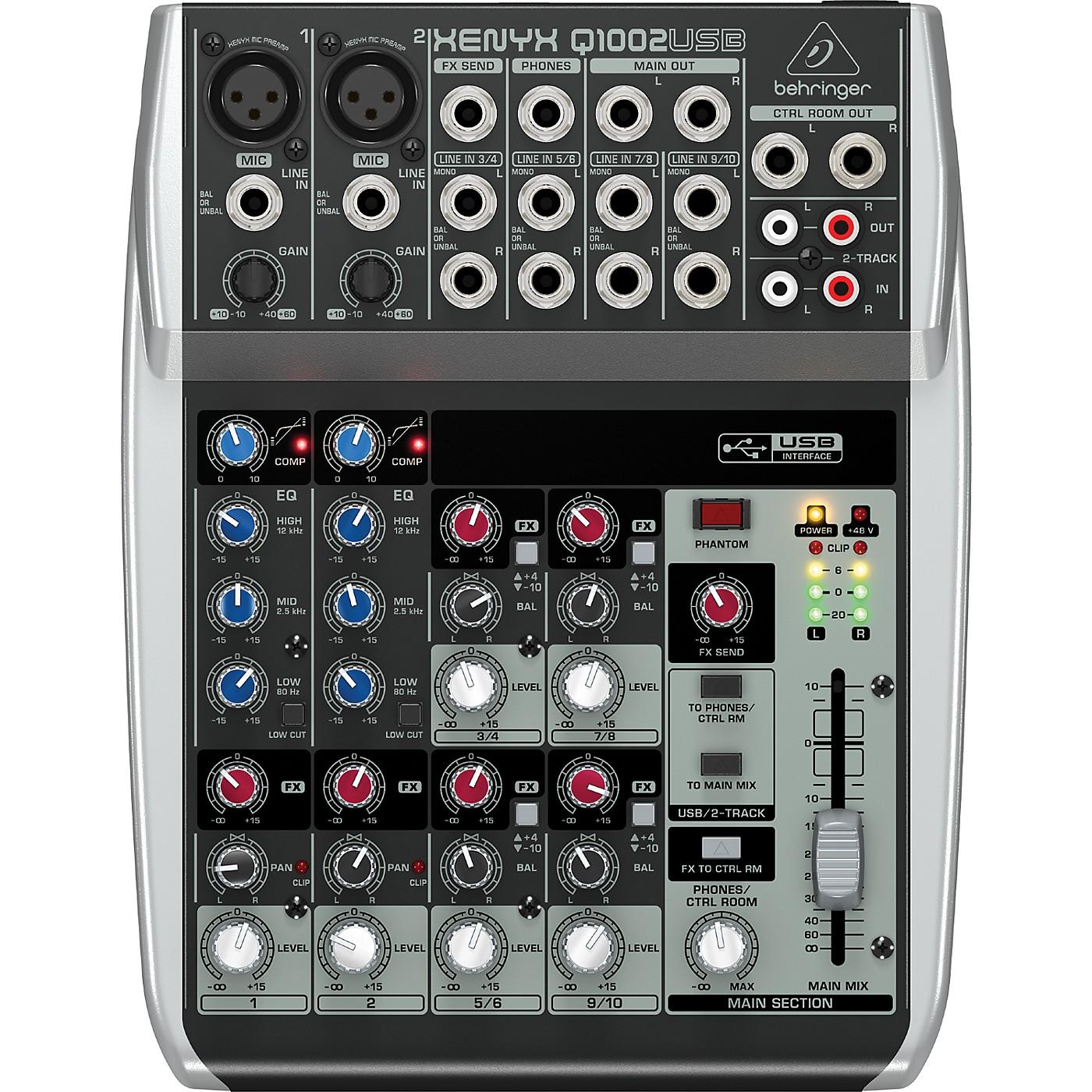 Behringer Xenyx Q1002USB Mixer thumbnail