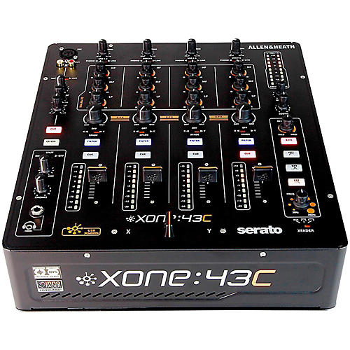 Allen & Heath Xone:43C DJ Mixer with Soundcard thumbnail