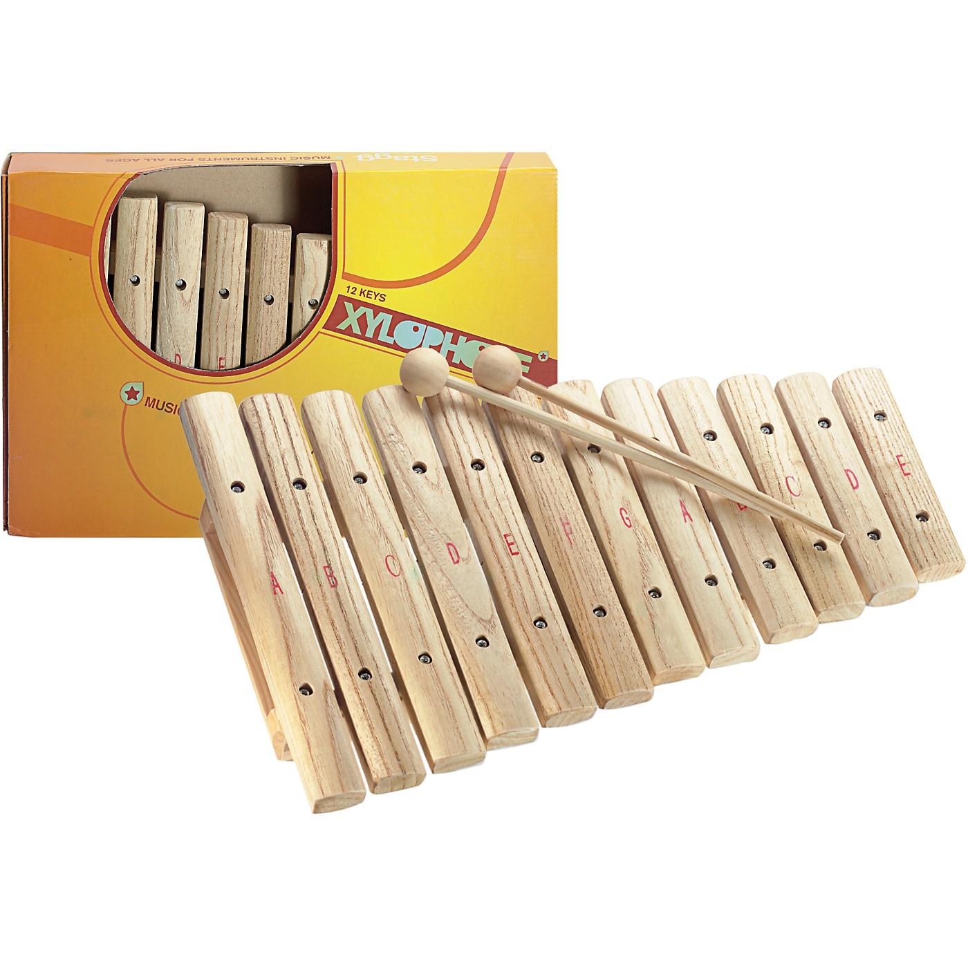 Stagg Xylophone, 12 Keys, A-E thumbnail