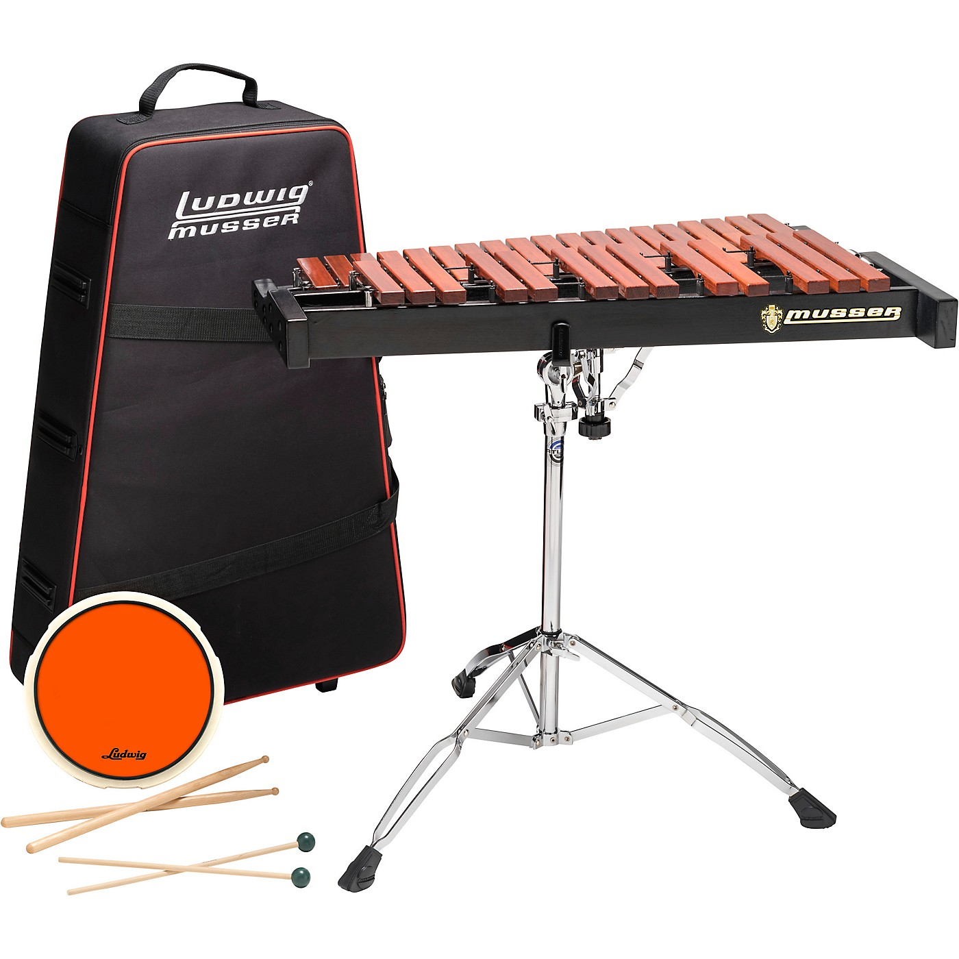 Musser Xylophone Kit 2.5 Octave With Pad, Stand, Bag thumbnail