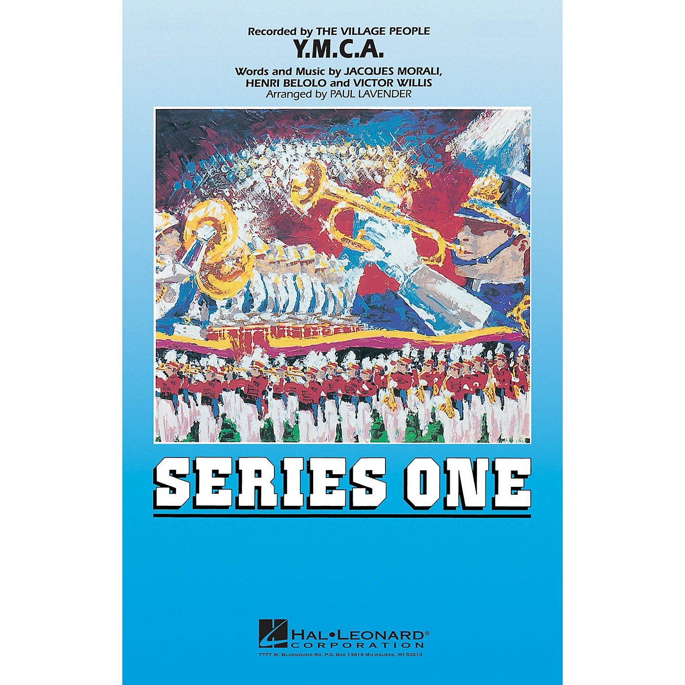 Hal Leonard Y.M.C.A. Marching Band Level 2 by The Village People Arranged by Paul Lavender thumbnail
