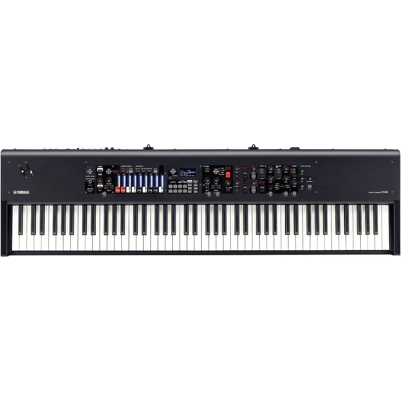 Yamaha YC88 88-Key Organ Stage Keyboard thumbnail