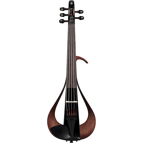 Yamaha YEV105 Series Electric Violin in Black Finish thumbnail
