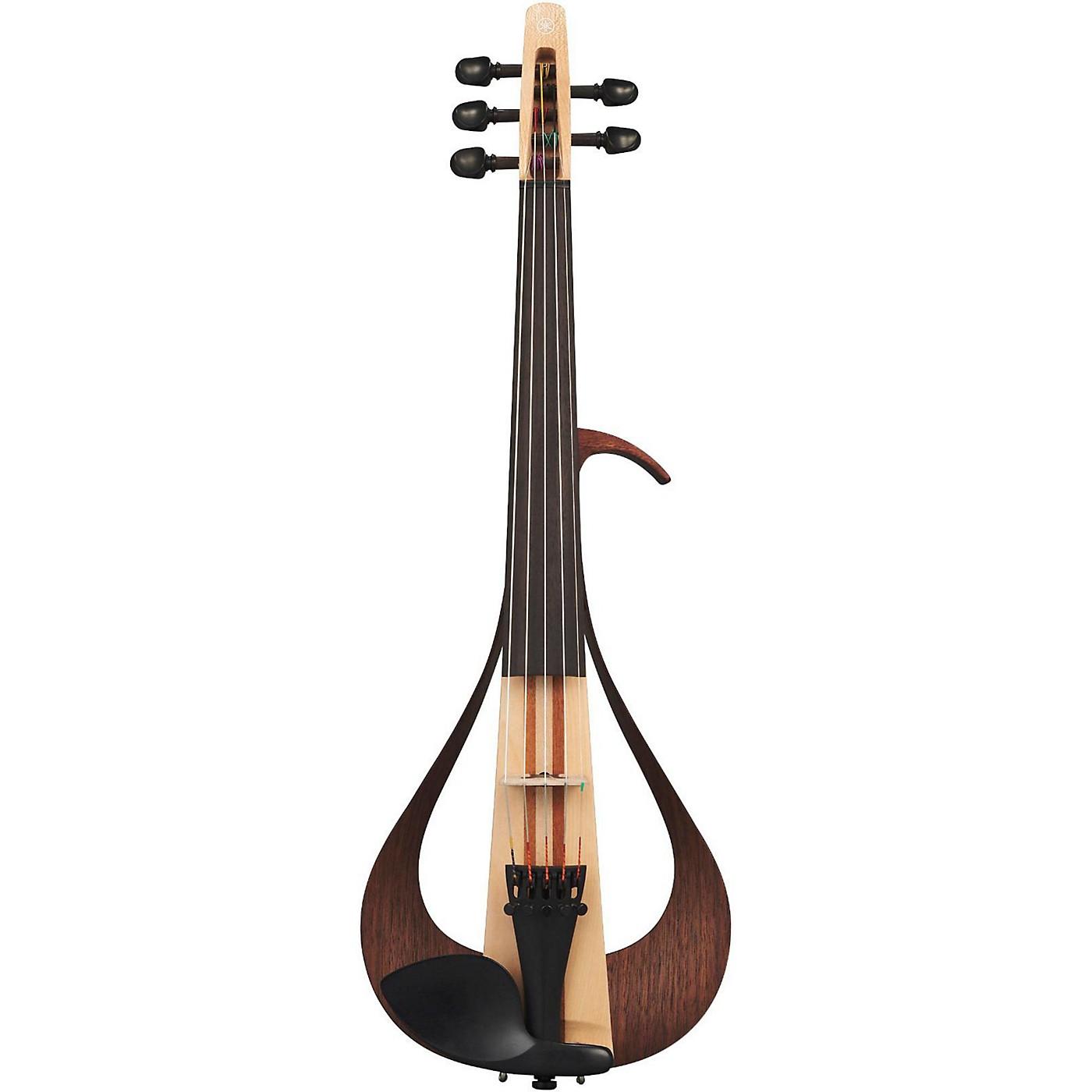 Yamaha YEV105 Series Electric Violin in Natural Finish thumbnail