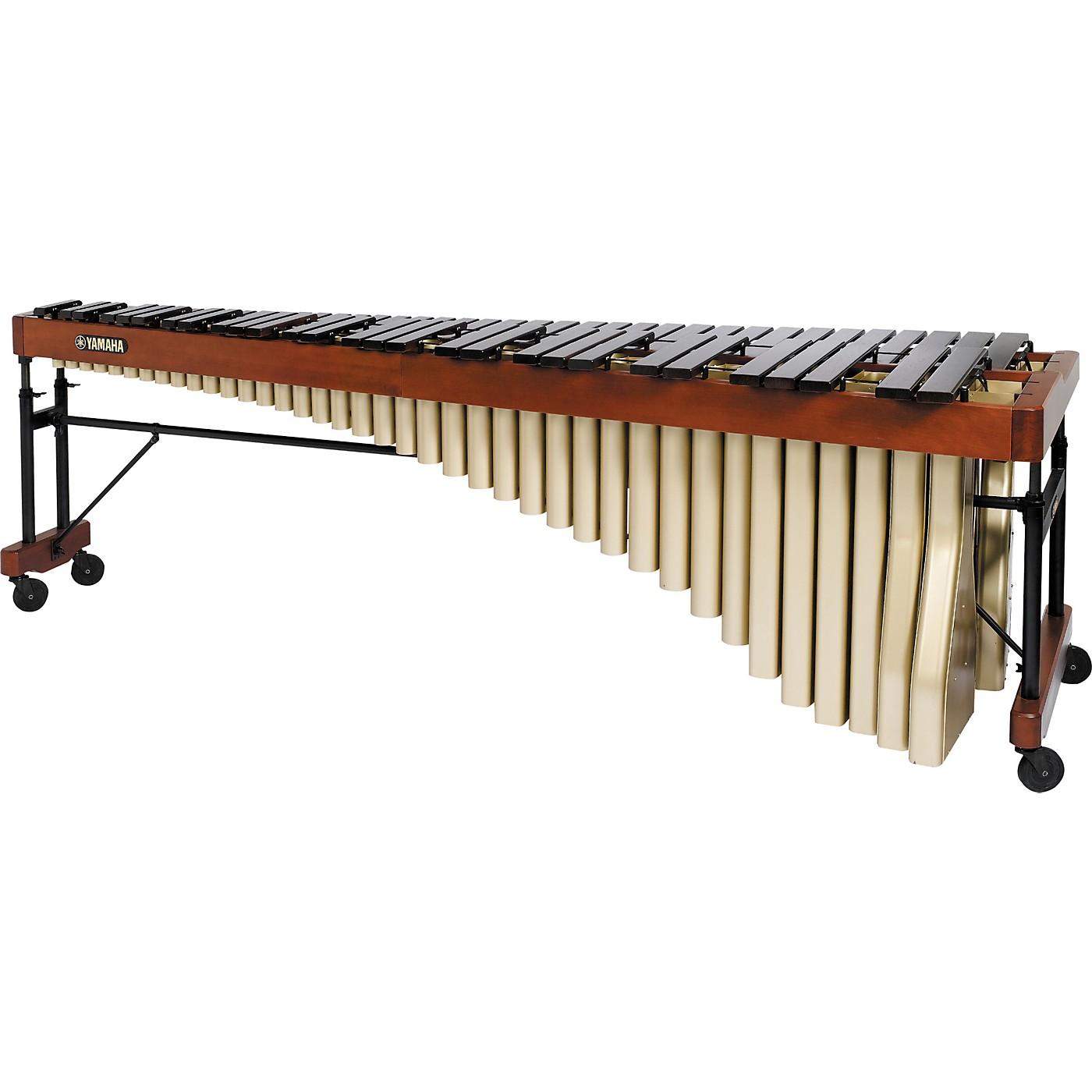Yamaha YM5104AC Custom 5.5 Octave Rosewood Marimba with Cover thumbnail