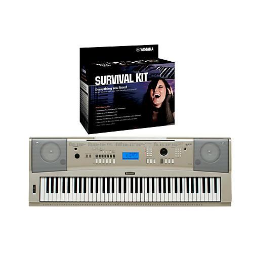 Yamaha YPG-235 76-Key Portable Grand Piano Keyboard with D2 Survival Kit thumbnail