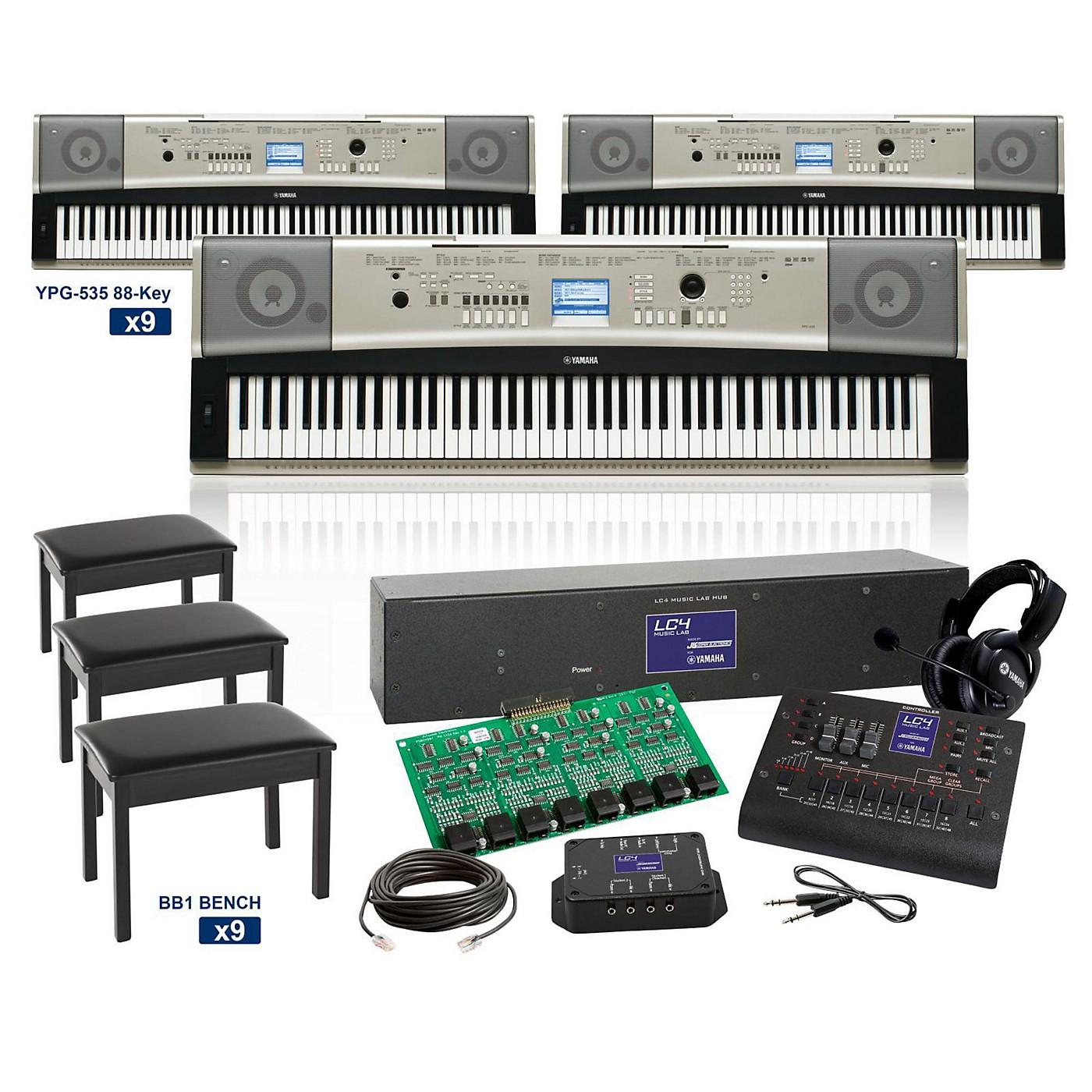 Yamaha YPG-535 88-Key Grand LC4 Keyboard Lab thumbnail