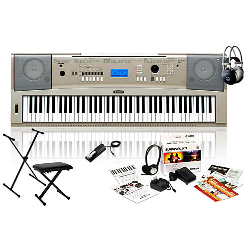 Yamaha YPG235 with Headphones, Bench, Stand and Sustain Pedal-thumbnail