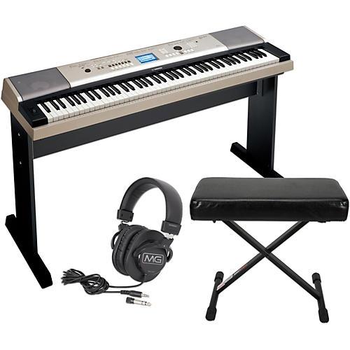 Yamaha YPG535 88Key Portable Grand Piano Keyboard with Bench and Headphones thumbnail