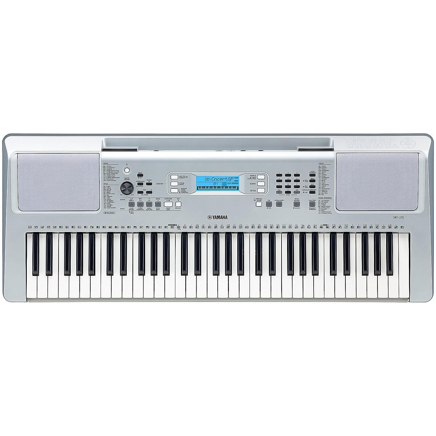 Yamaha YPT-370 61-Key Mid-Level Portable Keyboard thumbnail