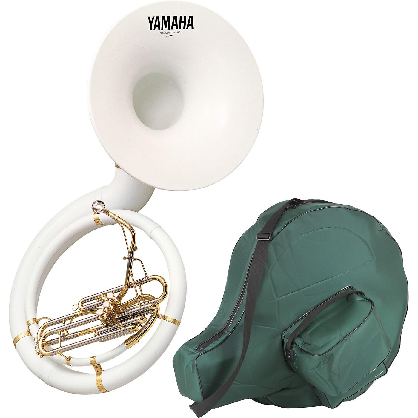 Yamaha YSH-301B Series Fiberglass BBb Sousaphone with Soft Carrying Bag thumbnail