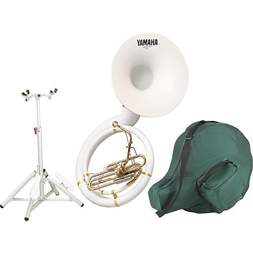 Yamaha YSH-301BSH Kit with Fiberglass BBb Sousaphone and Hardware Stand thumbnail