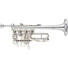 Yamaha YTR-988 Custom Series Rotary Bb / A Piccolo Trumpet