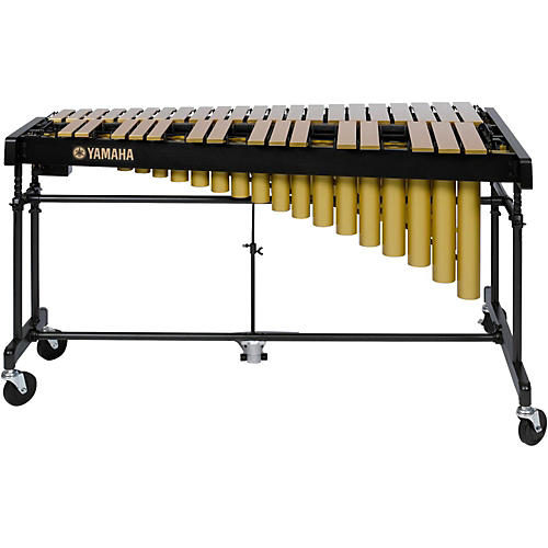 Yamaha YV-2700GC 3 Octave Intermediate Vibraphone, Gold With Cover thumbnail