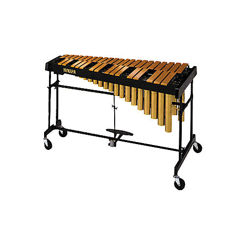Yamaha YVRD-2700GC Gold Intermediate Vibraphone With Multi-Frame II Stand and Cover 582355 thumbnail