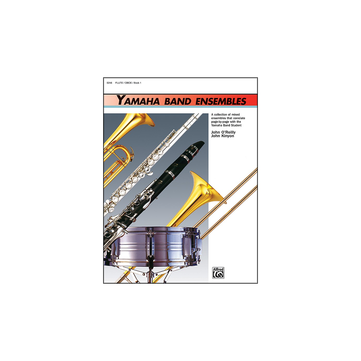 Alfred Yamaha Band Ensembles Book 1 Flute Oboe thumbnail