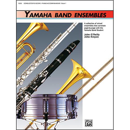 Alfred Yamaha Band Ensembles Book 1 Piano Acc./Conductor's Score thumbnail