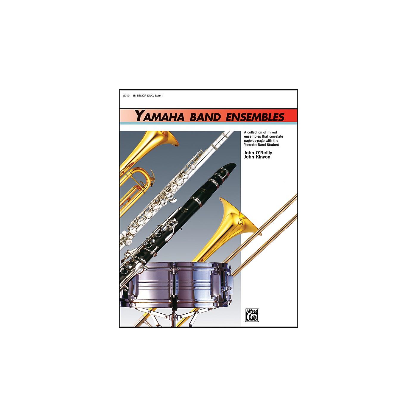 Alfred Yamaha Band Ensembles Book 1 Tenor Sax thumbnail