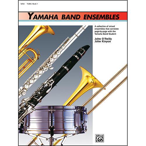 Alfred Yamaha Band Ensembles Book 1 Tuba thumbnail
