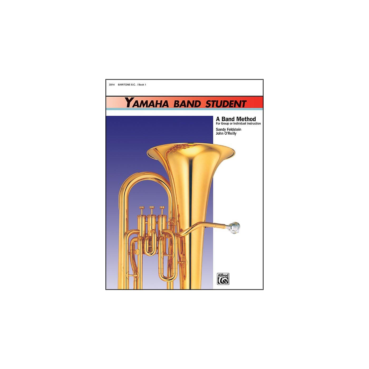 Alfred Yamaha Band Student Book 1 Baritone B.C. thumbnail