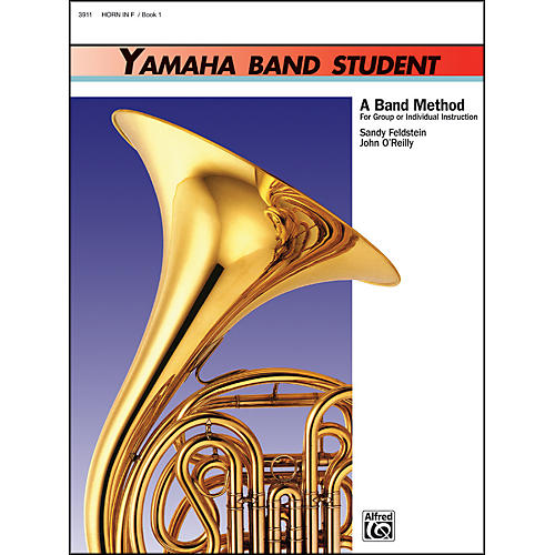 Alfred Yamaha Band Student Book 1 Horn in F-thumbnail