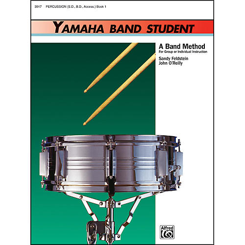 Alfred Yamaha Band Student Book 1 PercussionSnare Drum Bass Drum & Accessories thumbnail
