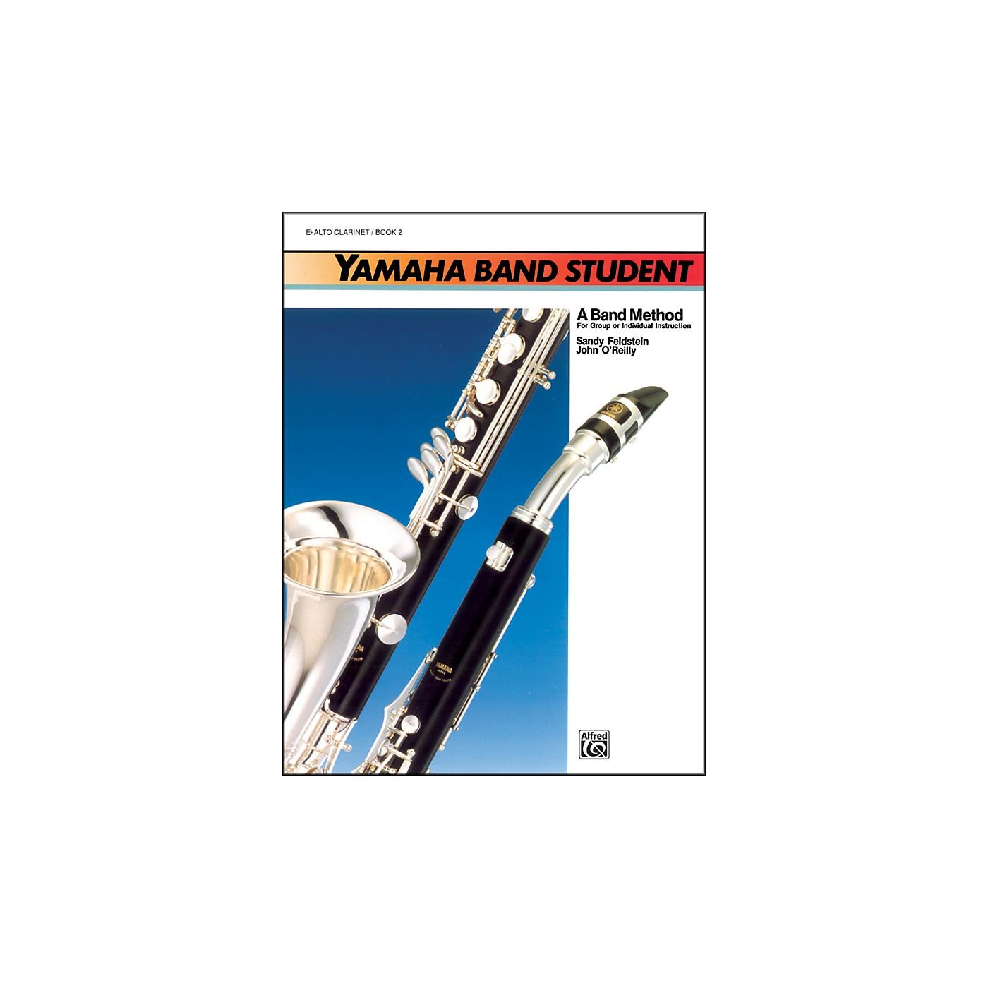 Alfred Yamaha Band Student Book 2 B-Flat Bass Clarinet thumbnail