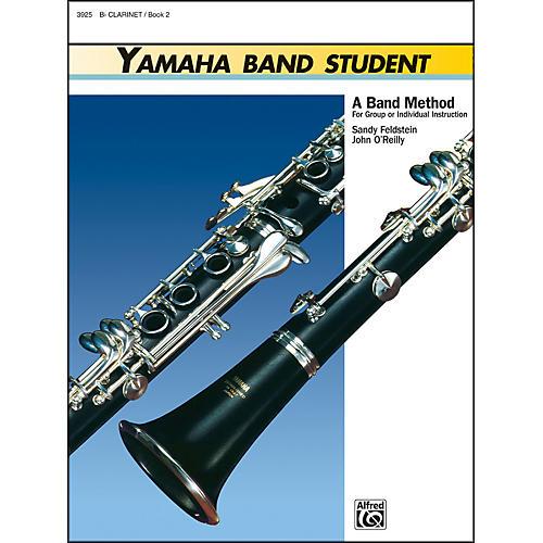 Alfred Yamaha Band Student Book 2 B-Flat Clarinet thumbnail