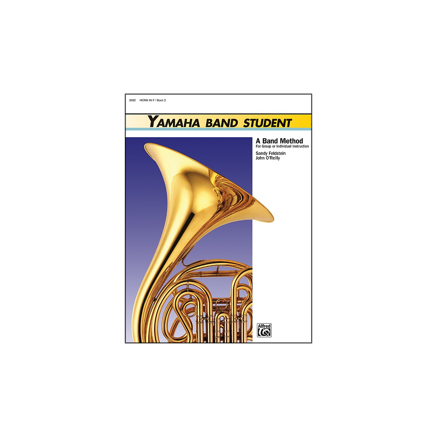 Alfred Yamaha Band Student Book 2 Horn in F thumbnail