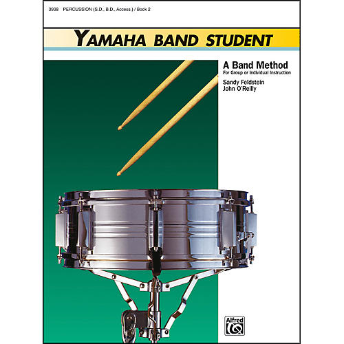 Alfred Yamaha Band Student Book 2 PercussionSnare Drum Bass Drum & Accessories thumbnail