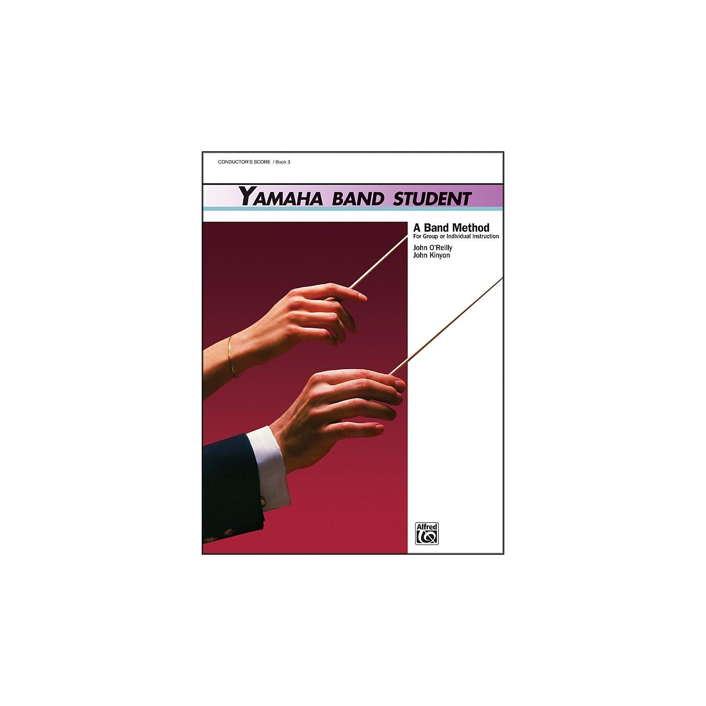 Alfred Yamaha Band Student Book 3 Conductor's Score thumbnail